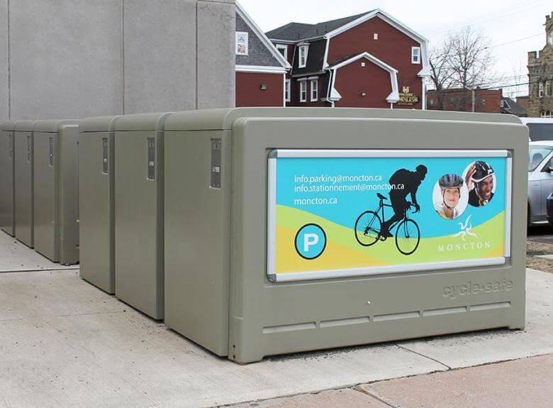 Moncton Bike Lockers