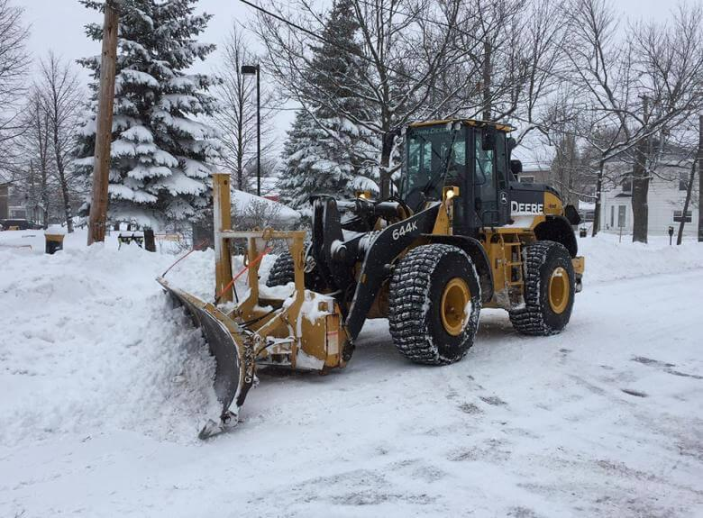 City of Moncton Plough, Snow Removal