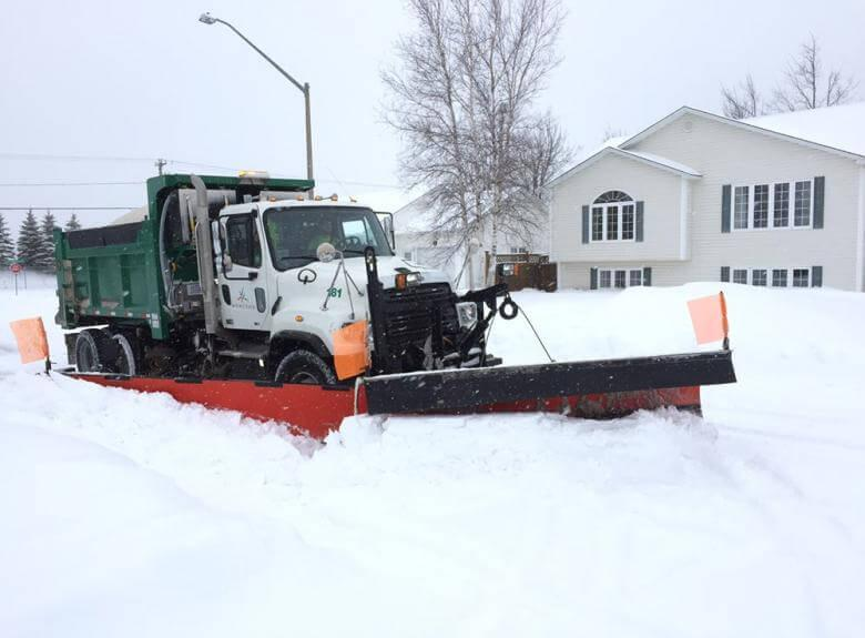 City of Moncton Snow Clearing